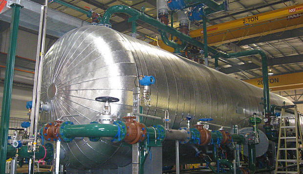 Horizontal 3 Phase Separator