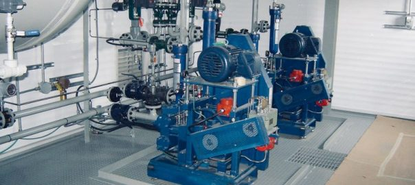 Positive displacement and centrifugal pump