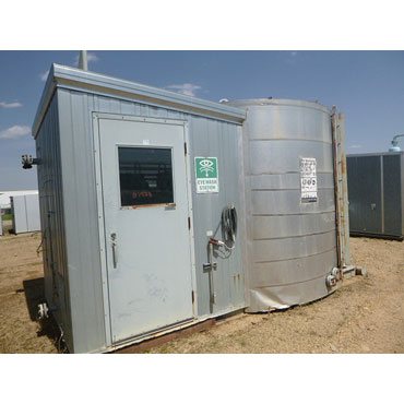 """16"""" OD X 7'0"""" S/S, 1440 psi Sweet Service, 100 BBL Tank/Separator Package"""