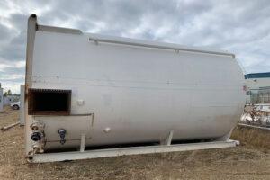 400 BBL Single Wall Tank, Sloped Bottom